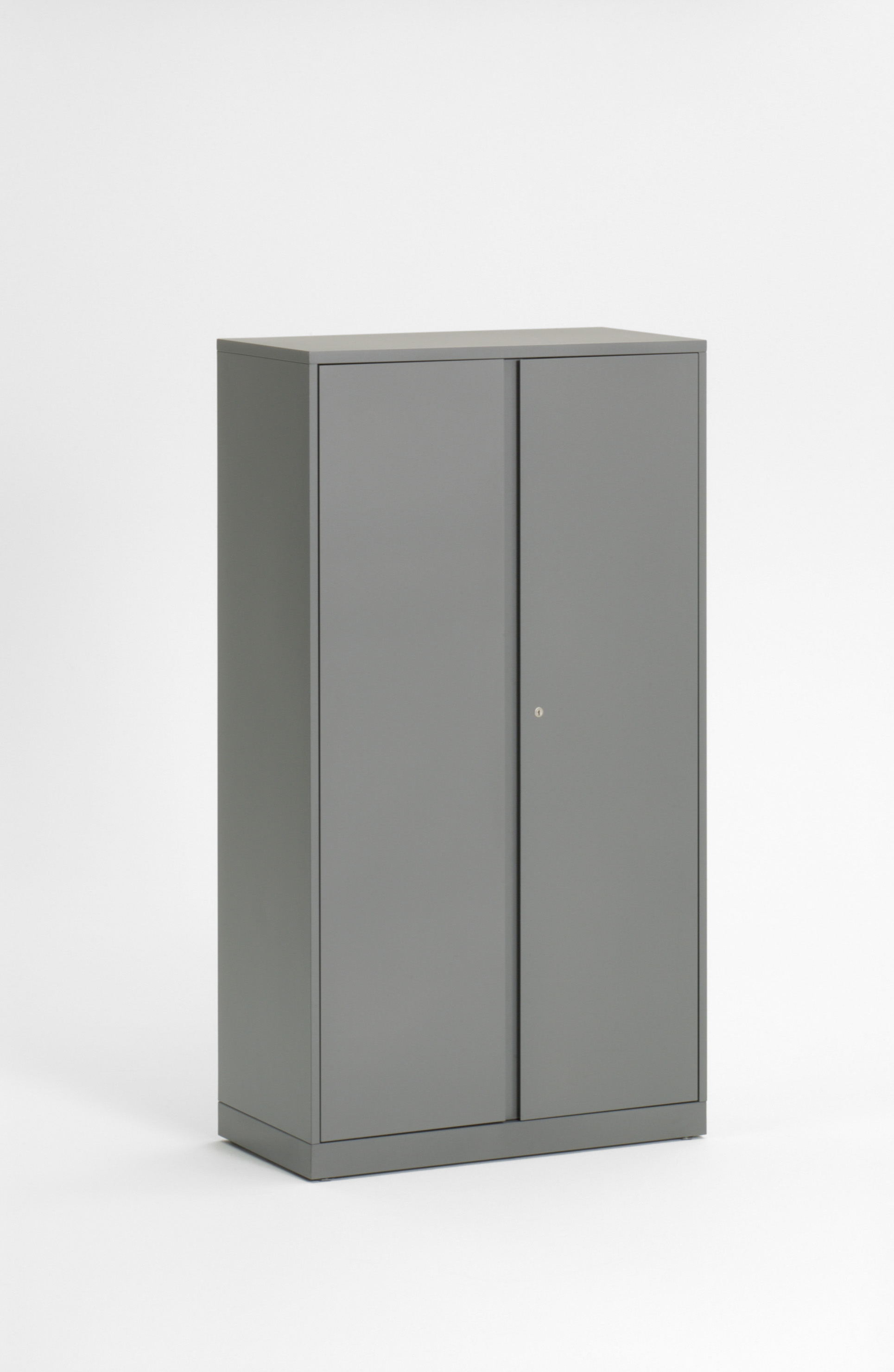 Universal Storage Cabinet and Wardrobe with flush steel fronts