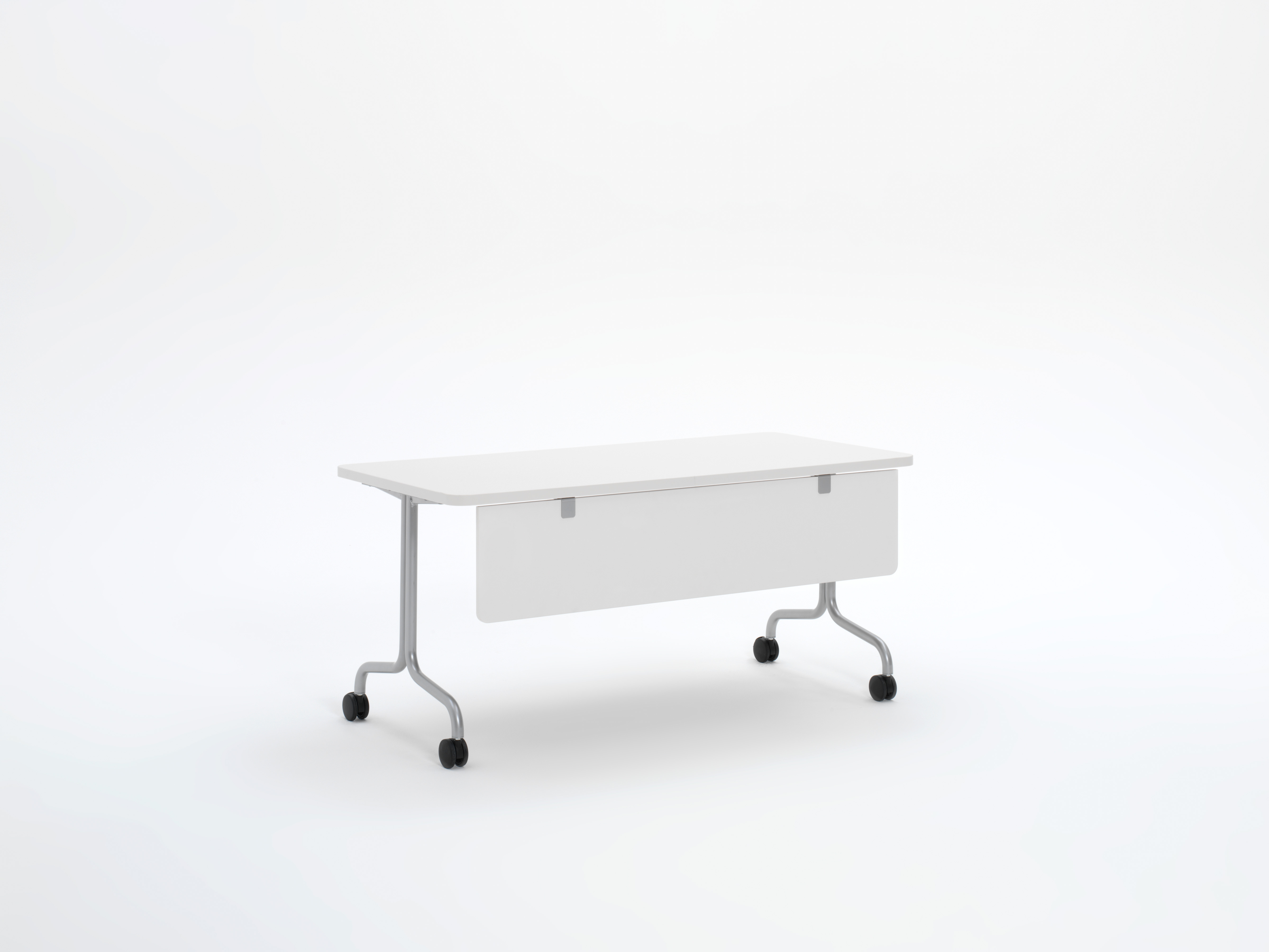 Groupwork rectangle table with modesty panel