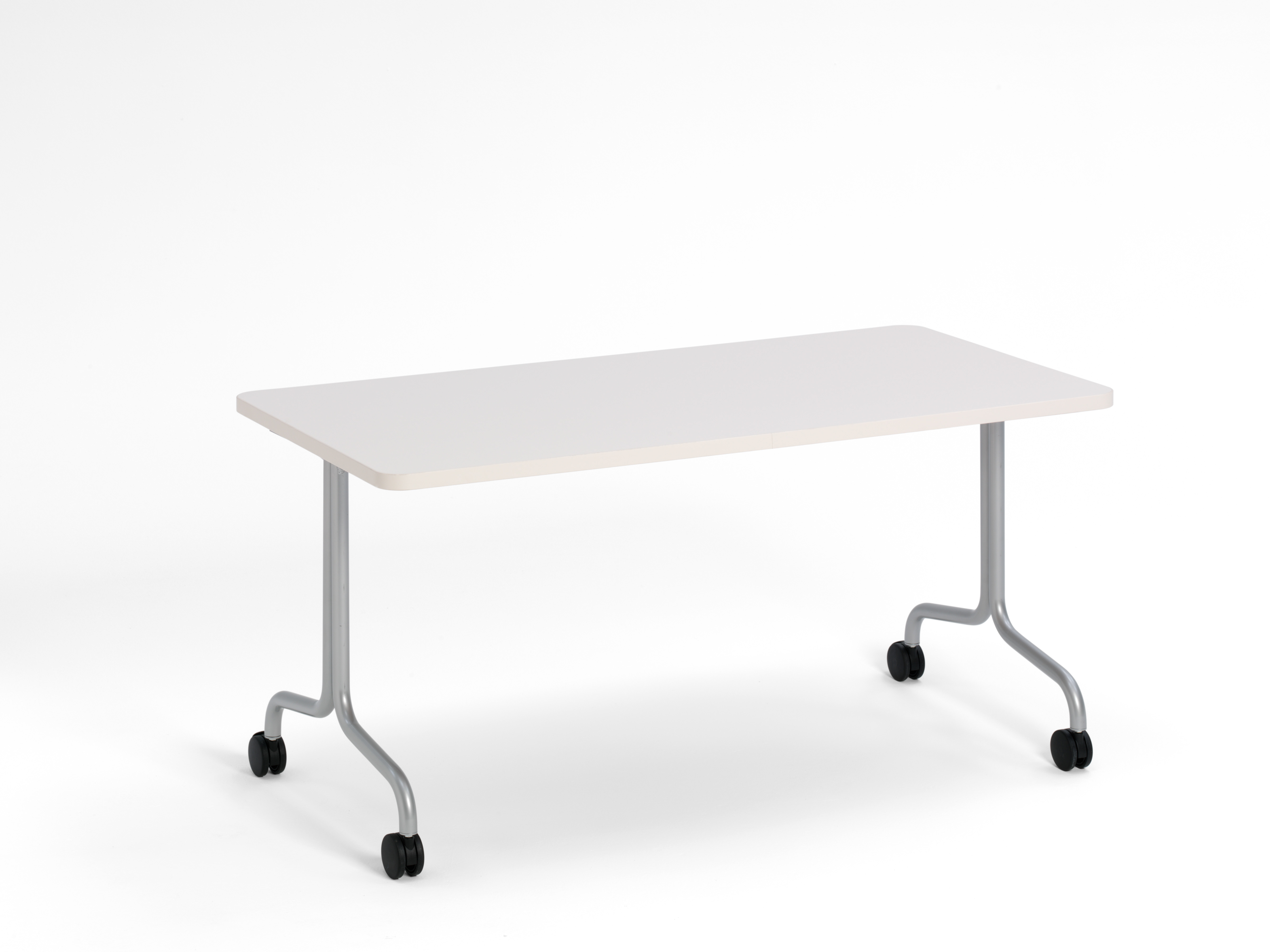 Groupwork rectangle table on casters