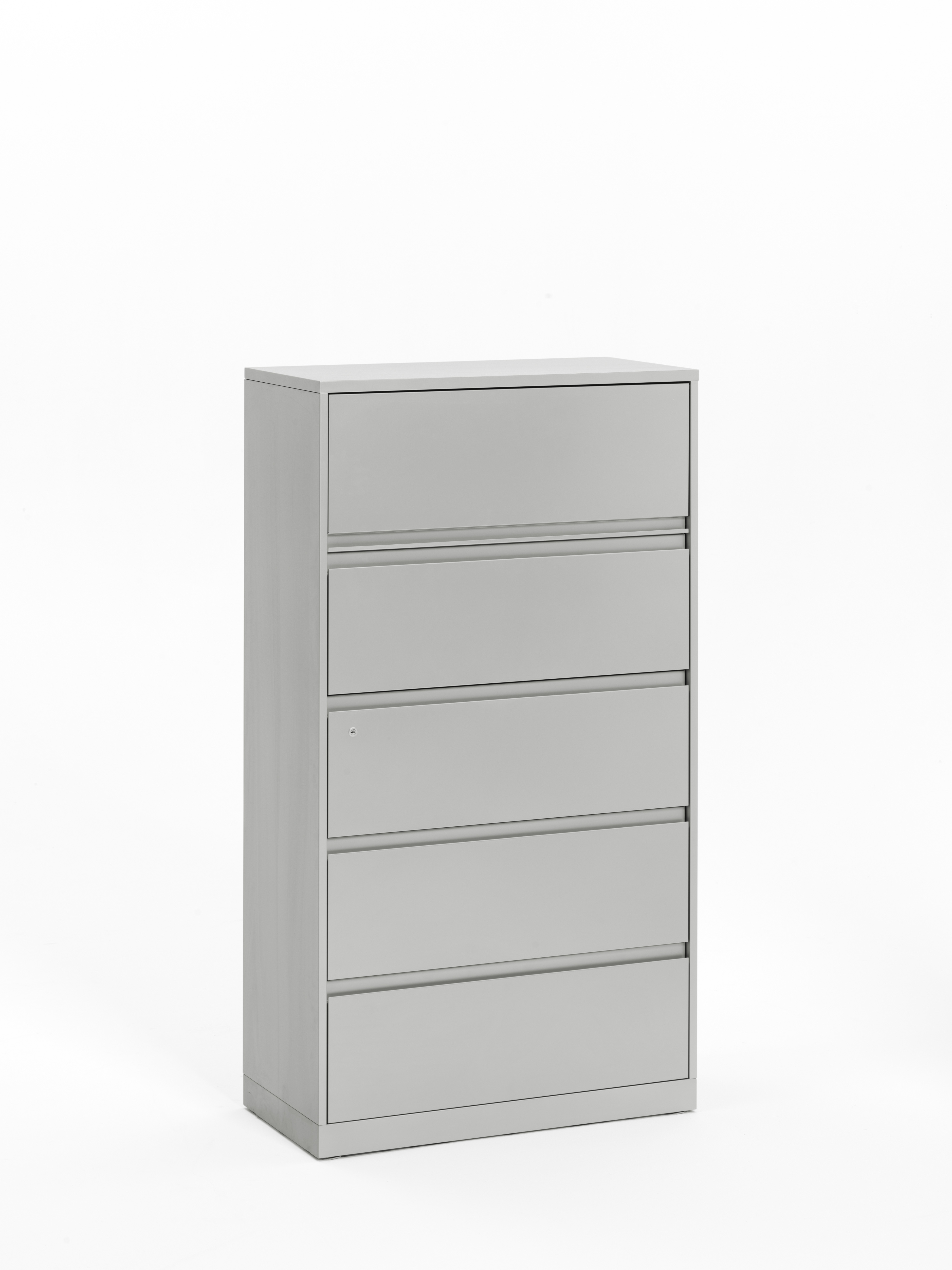 Universal Lateral File with flush front