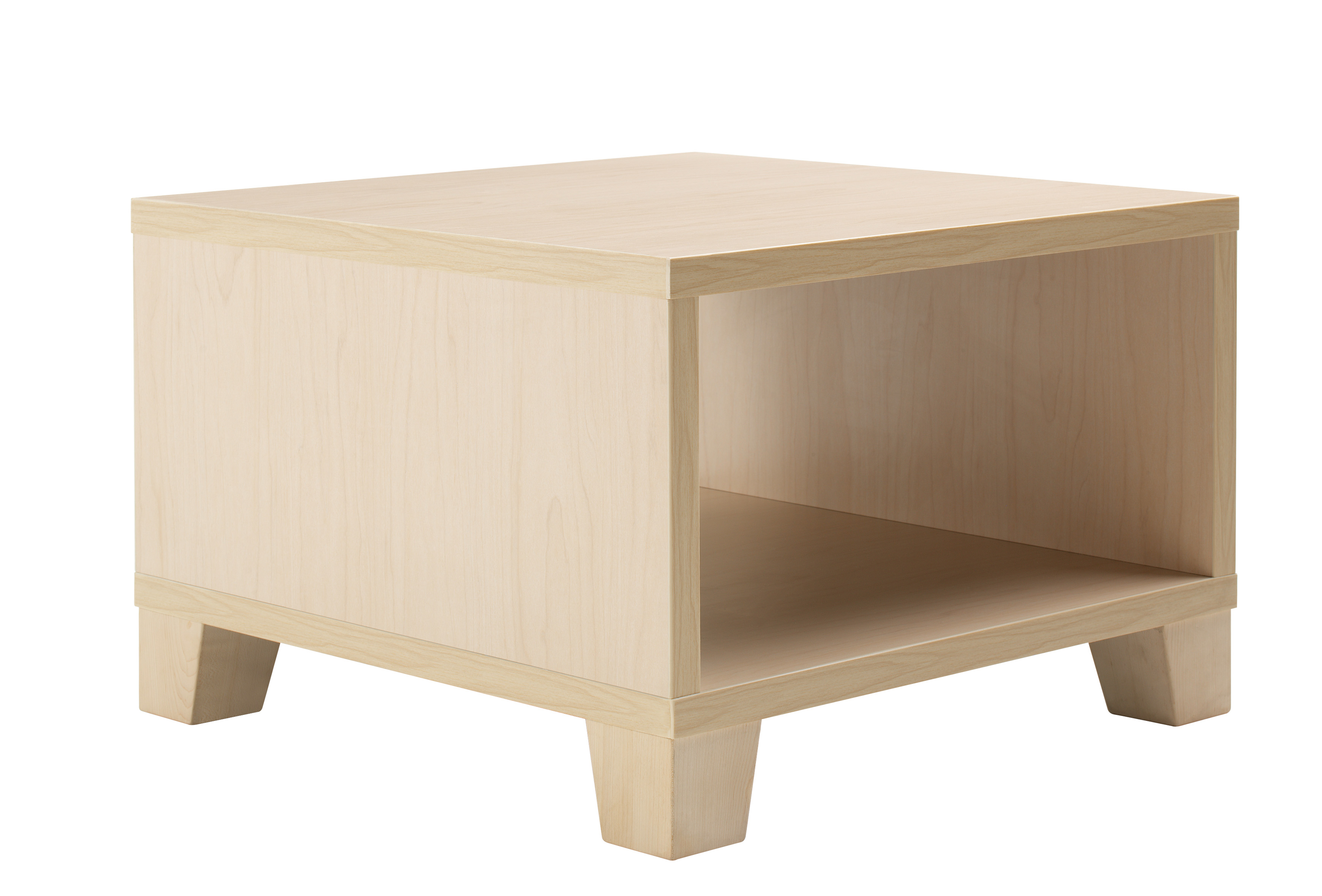 Jenny Coffee Table with wooden legs