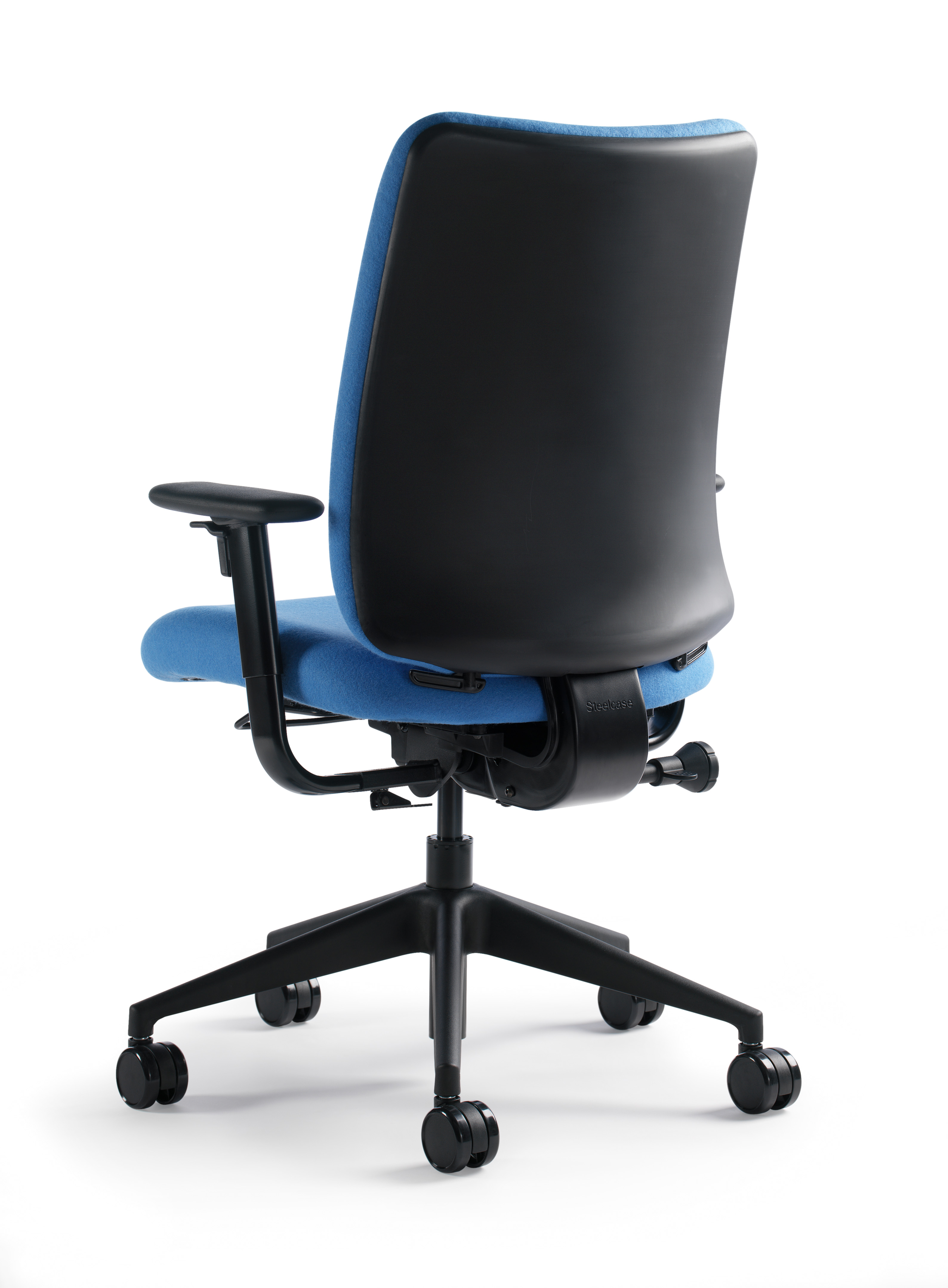 Crew Task Chair with plastic back by Turnstone
