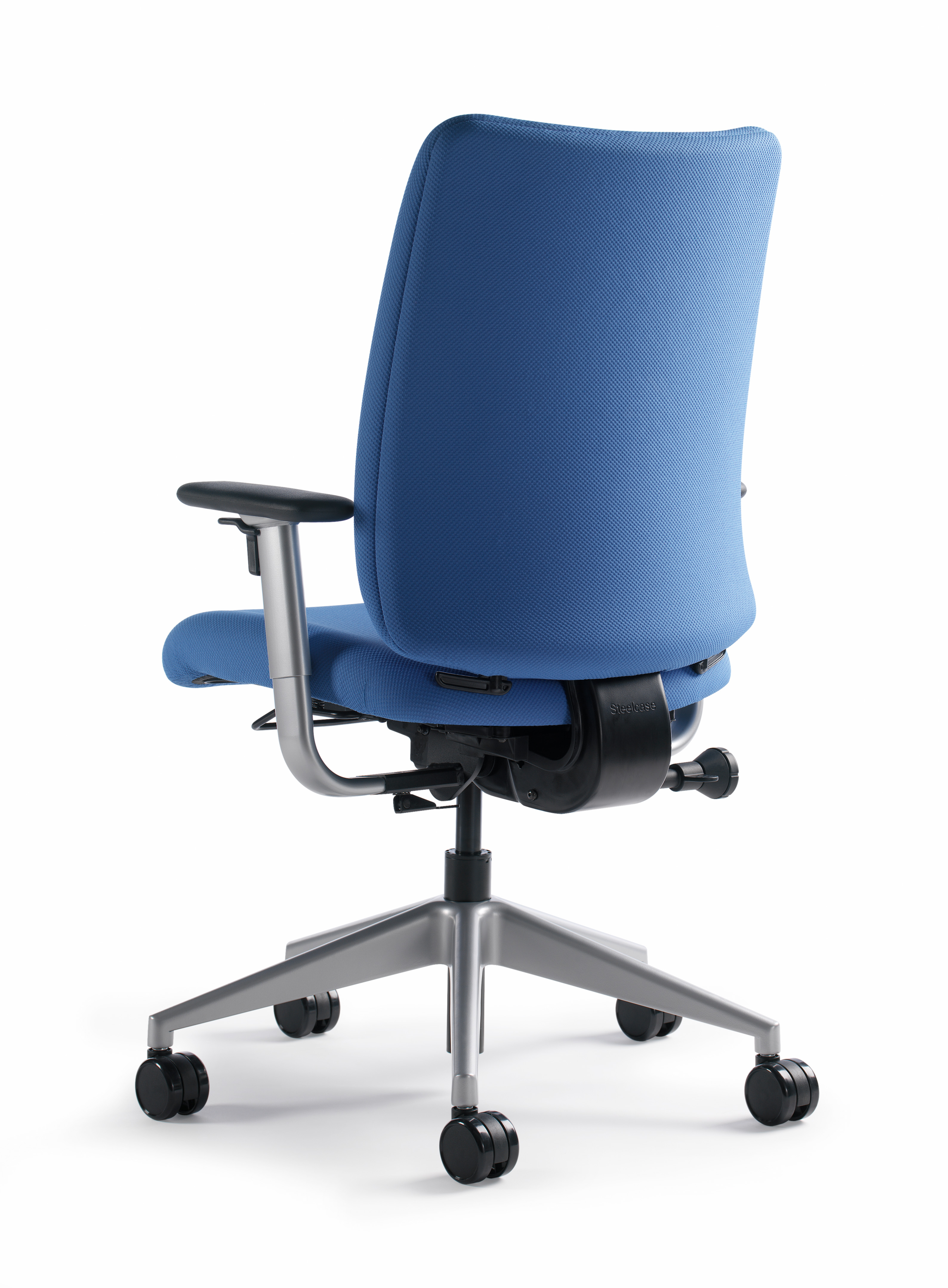 Crew Task Chair with arms and fabric back