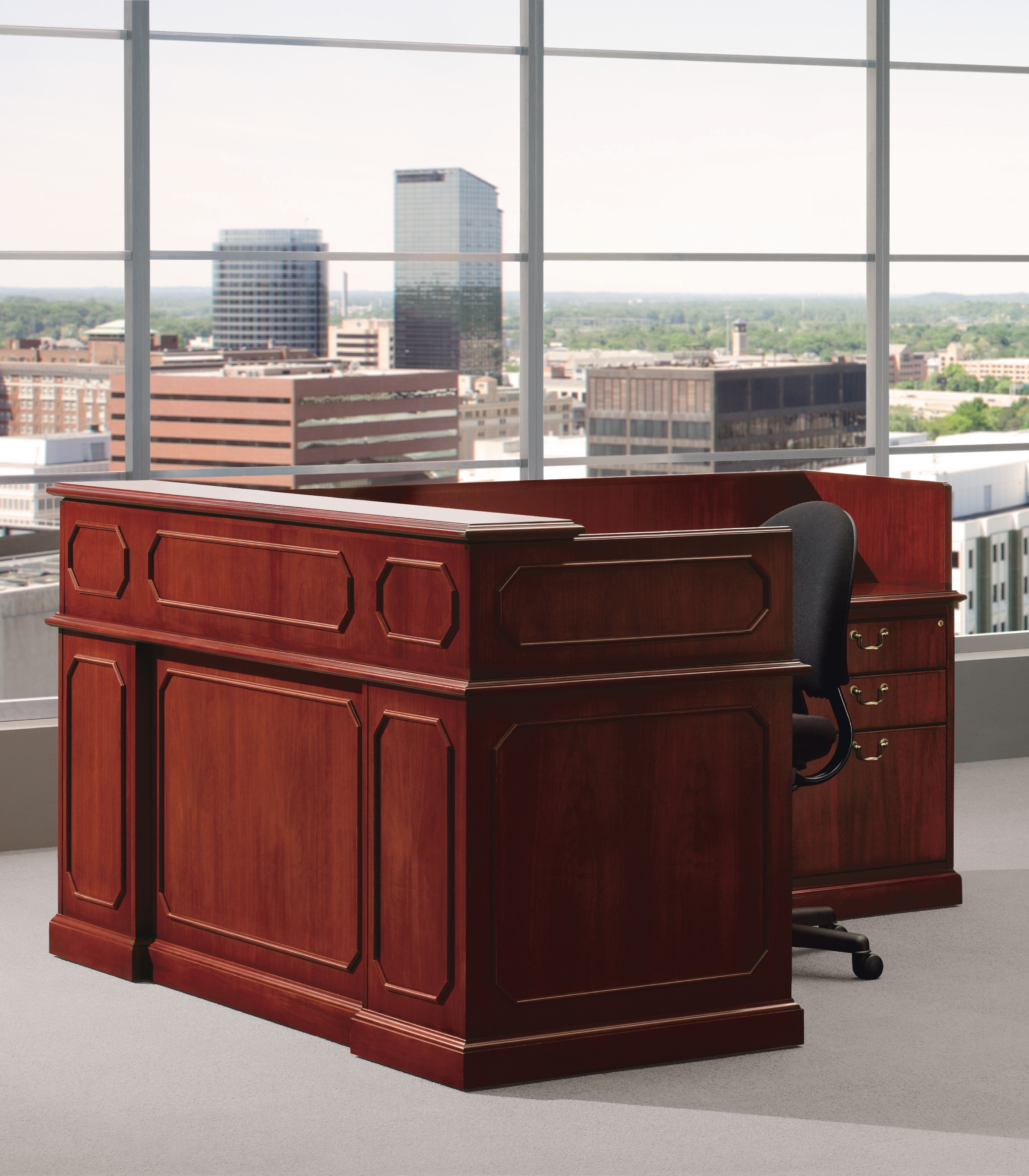 Norfolk II reception desk