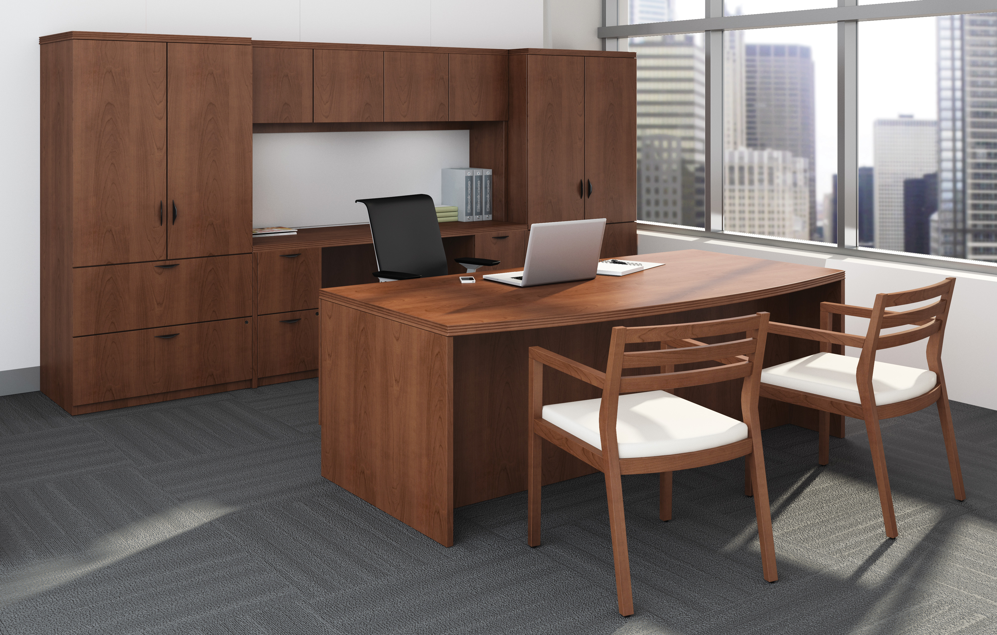 Payback desking with Think & Sawyer seating