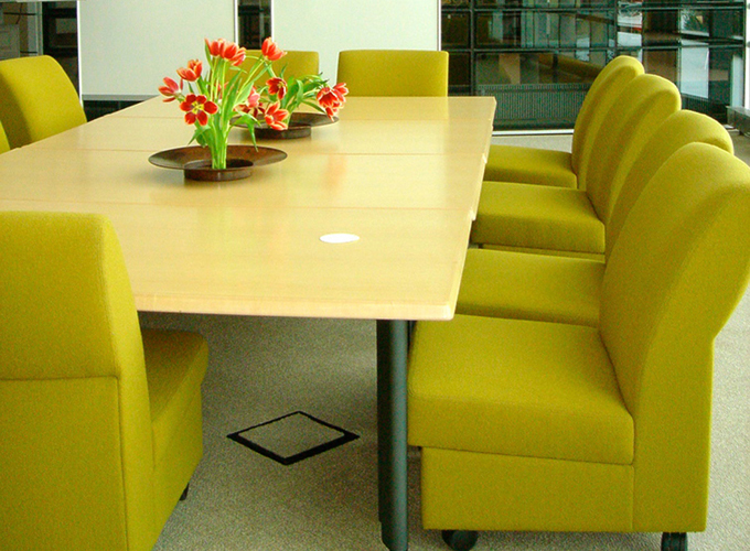 Archipelago Lounge Chairs with Reunion Tables