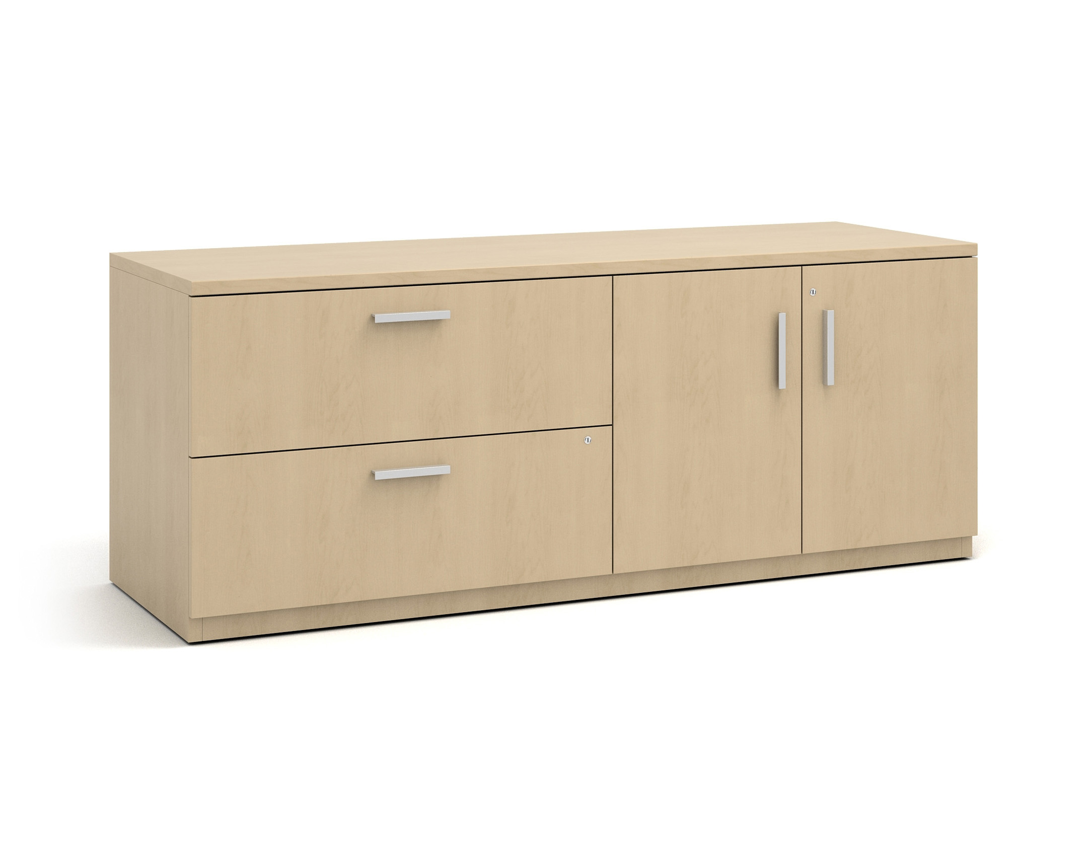 Currency low storage cabinet