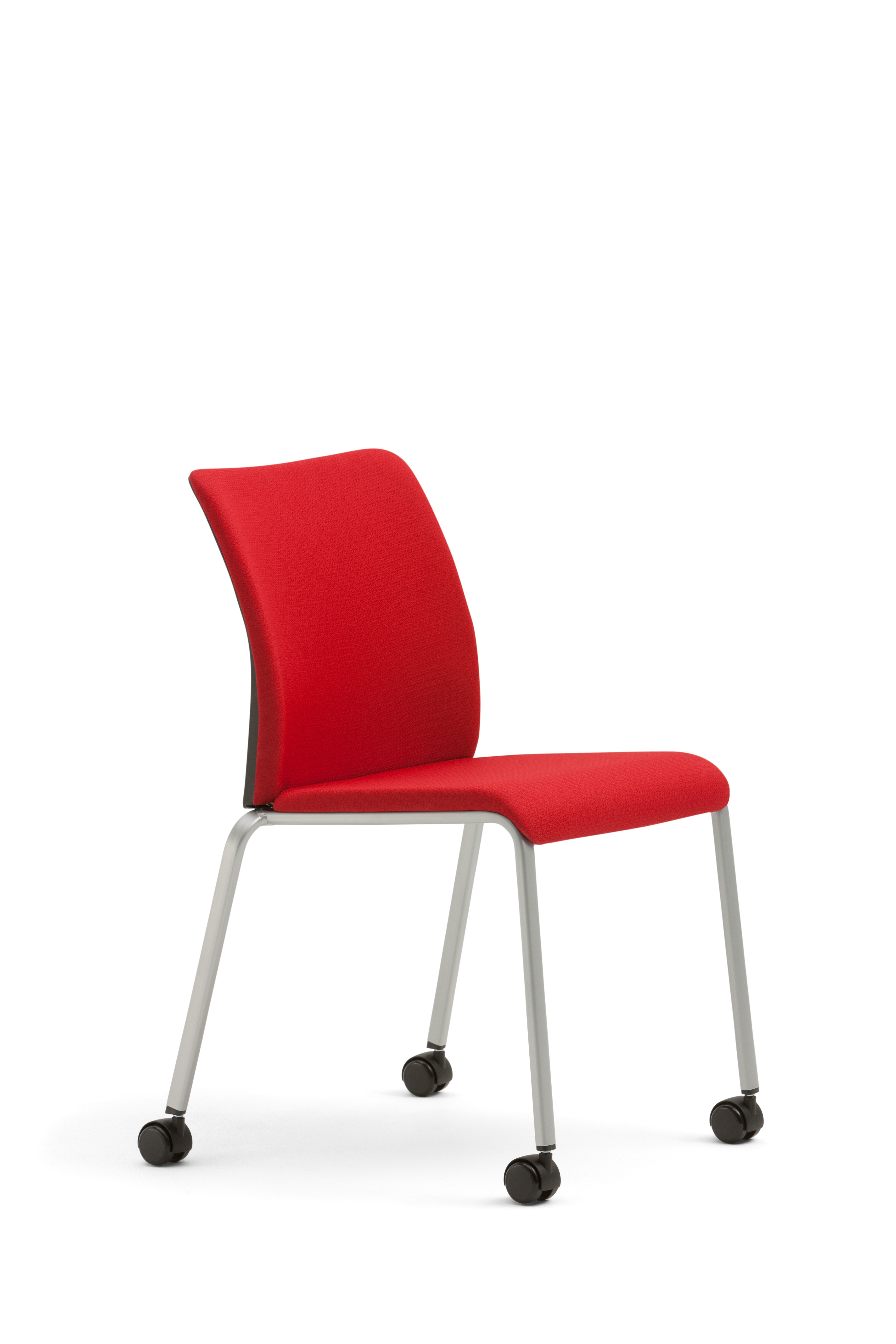 Reply side chair - 4 leg with casters