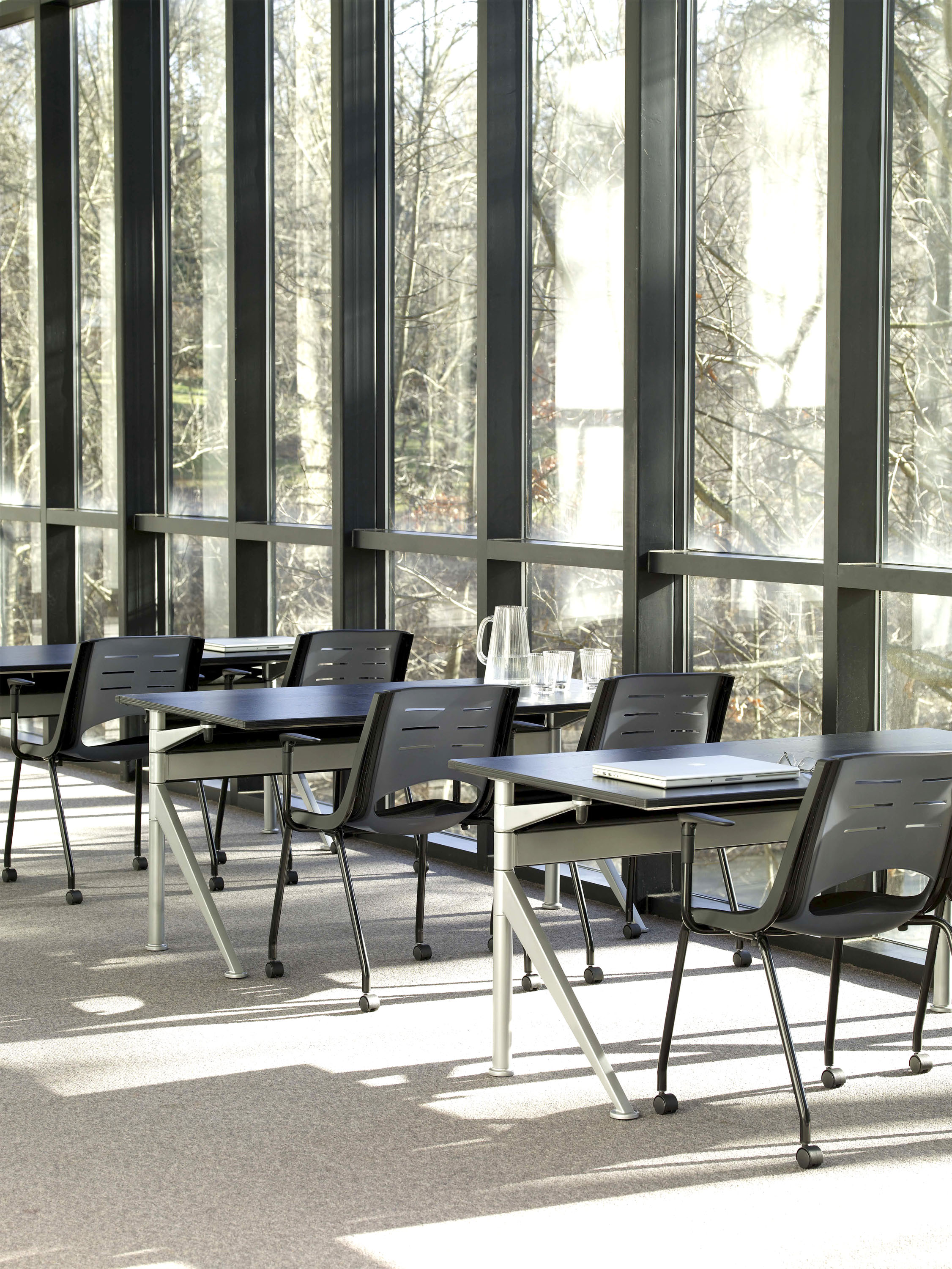 X-Stack Chairs with Ballet Tables
