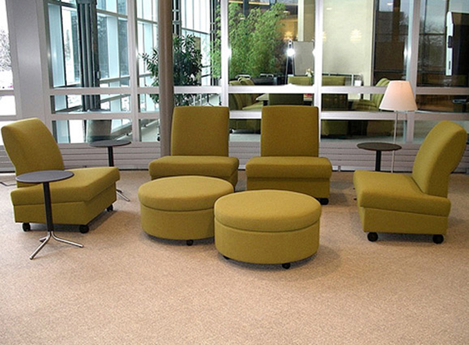 Archipelago Lounge Chairs with Bix Satellite Tables