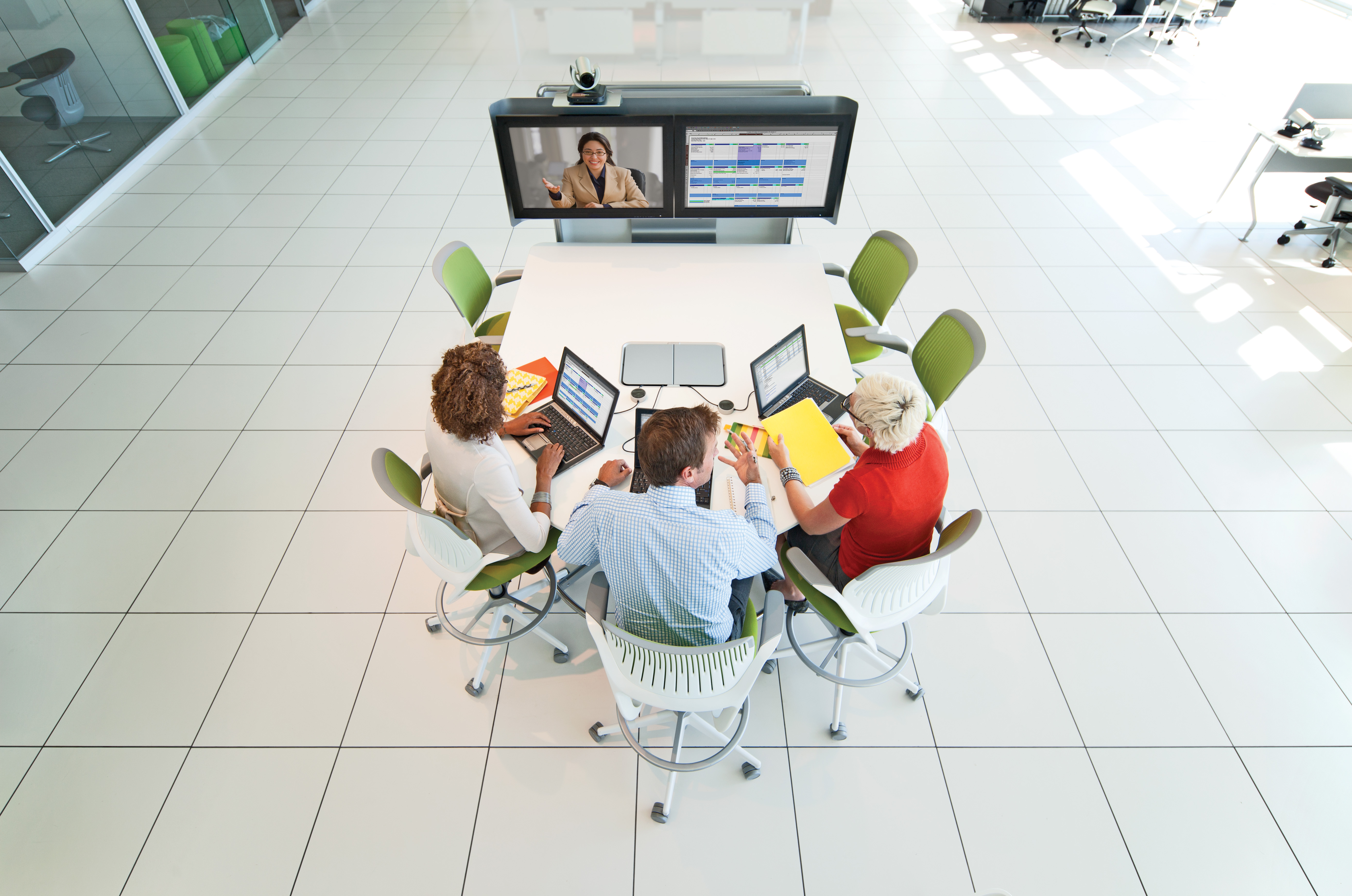 media:scape with HD videoconferencing