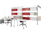 Duo Tall Storage by Steelcase