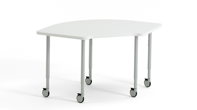 Adjustable-Height Leg Worksurface