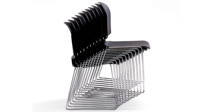 MaxStacker II chairs stacked